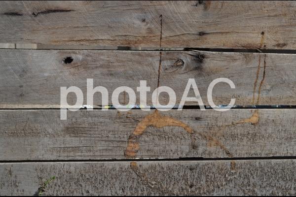 古い木の板1の写真