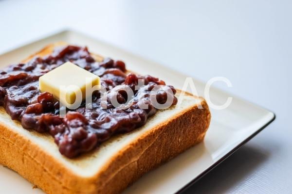 小倉トーストの写真