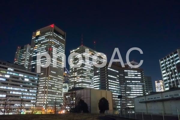 東京 永田町・霞ヶ関の夜景の写真
