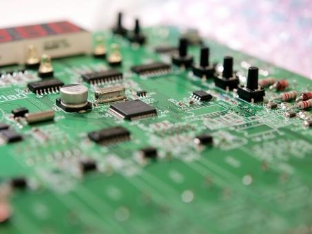 基板 PCB プリント基板 電子回路 電子 コンピュータ IC 半導体 SMT LSI コンデンサ LED スイッチ
