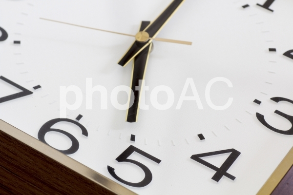 退社時刻の写真