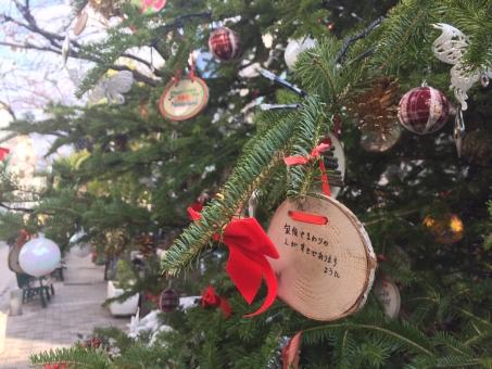 願い 幸せ ツリー クリスマス 家族 自由が丘 12月 街 街角
