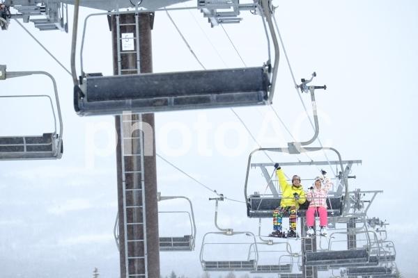 スキー場にて112の写真