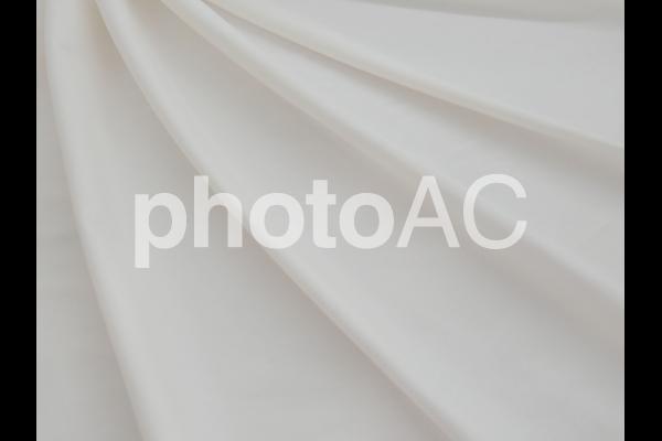 白い布のドレープの写真