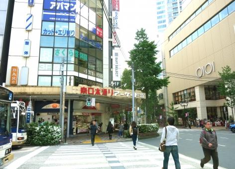 中野区 東京 tokyo nakano 16 アニメ マンガ 中央線 総武線 jr 電車 イベント 街路樹 商店街 バス