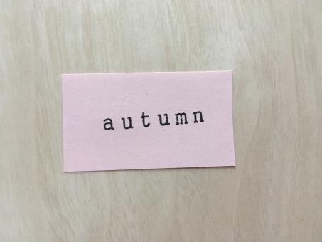 stamp スタンプ アルファベット 文字 英語 英字 壁 メッセージ メモ 紙 背景 素材 背景素材 壁紙 秋 autumn fall 季節 四季