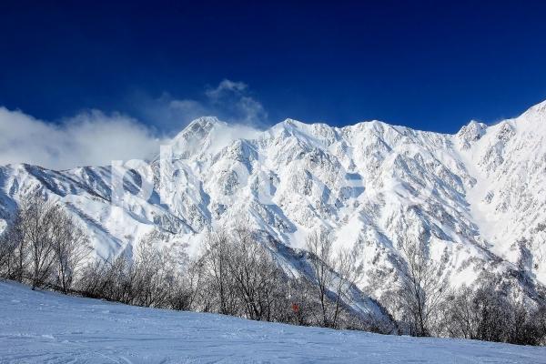 白馬三山の写真