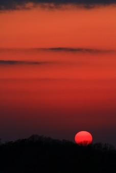 沈む太陽2の写真