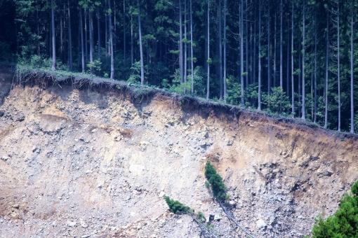 熊本 地震 阿蘇 復興 復旧 災害 震災 斜面崩壊 断層 震度 マグネチュード 震源 フェアウエー 崩壊 森林 樹木 倒壊 がけ崩れ 山崩れ 危険 土砂崩れ 土砂流出 地滑り 地すべり 被害 甚大 大規模崩壊 崩落