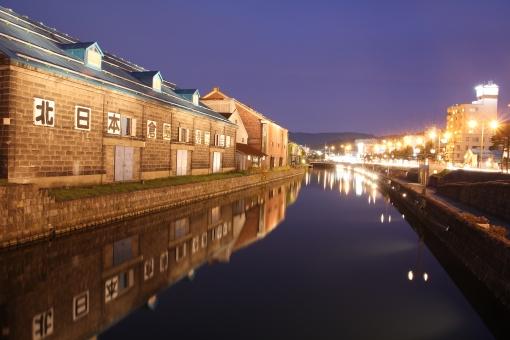 小樽 北海道 道内 日本 国内 旅行 旅 国内旅行 北海道旅行 道内旅行 観光 観光名所 観光スポット 名所 夜   夜景   夜空   ライト   ライトアップ   イルミネーション 電気   電灯 明り 明かり 灯 灯り  景観  キレイ きれい 綺麗