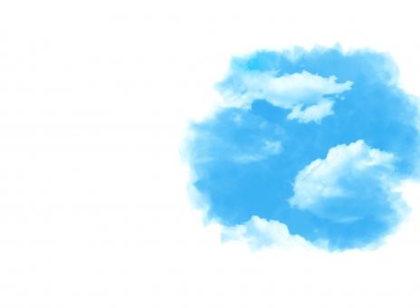 背景 背景素材 テクスチャ バックグラウンド 空 快晴 青空 雲 晴れ テクスチャー お出かけ 気持ち良い 心地よい 清々しい さわやかな 青 晴天 水彩 絵 絵画 アナログ 描く ピクチャー 晴れ晴れ 天気 サニーデイ 日和 明るい 前向きな 広がり