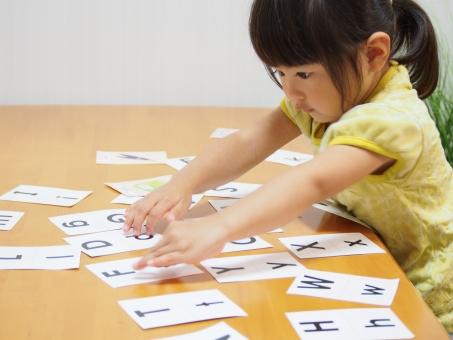 勉強 子ども 3才 日本人 girl english 英語 園児 女の子