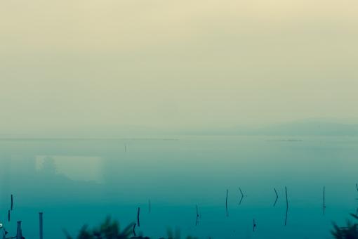 湖 宍道湖 島根 松江 出雲 車窓