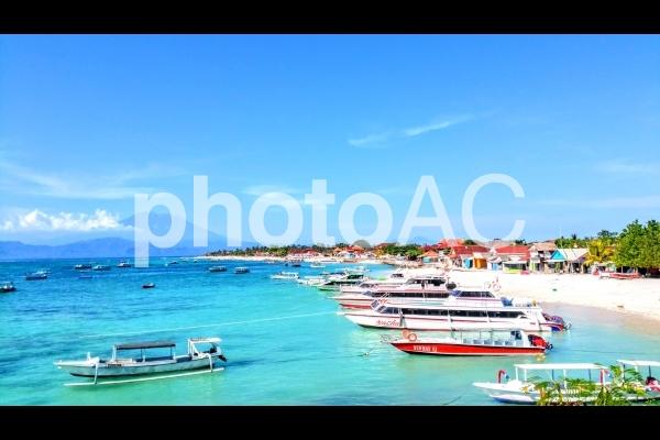 バリ、レンボンガン島の景色の写真