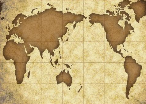 地図 古い 古びた アンティーク アンティーク調 古代 骨董 骨董品 セピア ヴィンテージ 年代物 年代もの 古美術 マップ 航海 世界 世界地図 冒険 アドベンチャー 旅行 歴史 国際 国際的 ワールド インターナショナル レトロ グローバル 地理 貿易 古い地図