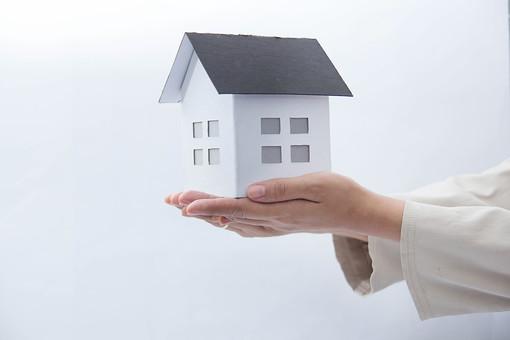 家の模型影111の写真