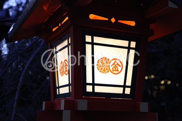 灯籠の写真