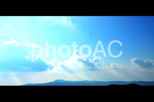 天の光の写真