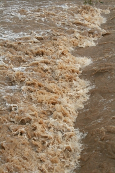濁流 水 濁った 豪雨 雨 大雨 川 河川 天候 天気 洪水 水害 激流 災害 土砂 氾濫 急流 勢い 台風 鉄砲水 集中豪雨 危険