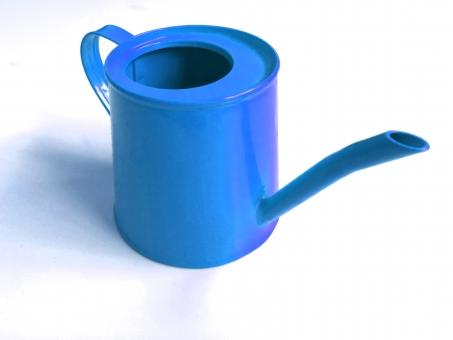 青 じょうろ 如雨露 水をあげる 水 植物 インテリア