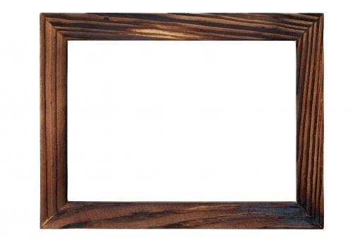 額縁 額 縁 枠 フレーム 木 木製 木材 木目 木枠 窓 フォトフレーム 写真立て フォト 飾り インテリア 額装 デザイン 写真 絵 絵画 美術 背景 バックグラウンド 四角形 素材 白 余白 空白 空間 スペース コピースペース 白背景 白バック 掲示板 案内 案内板 伝言 メッセージ 質感 テクスチャ 木肌 画材 茶色 雑貨 シンプル スタジオ撮影 アップ クローズアップ 1つ 無人