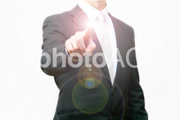 ビジネスマン51【導き!】の写真