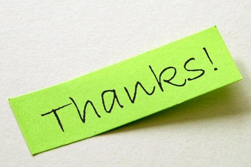 ありがとう 感謝 サンキュー お礼 挨拶 あいさつ 付箋 付せん 黄緑 紙 タグ 一言 英文字 英字 単語 メモ 伝言
