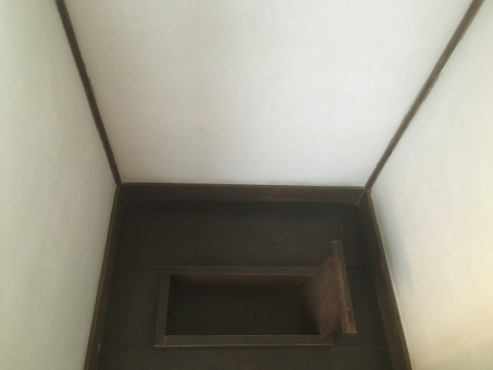 厠 トイレ 江戸時代 大 木 便所 木製 陣屋 古い