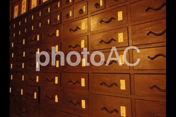 薬棚の写真