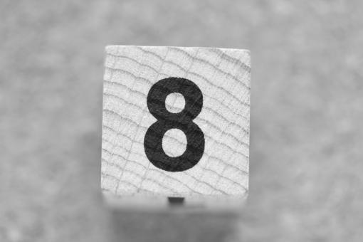 ナンバーの写真