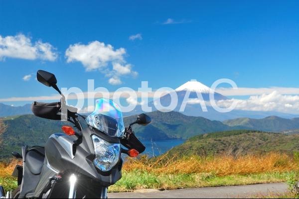 バイク&富士ツーリングの写真