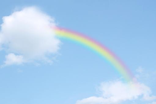 虹のかけ橋の写真