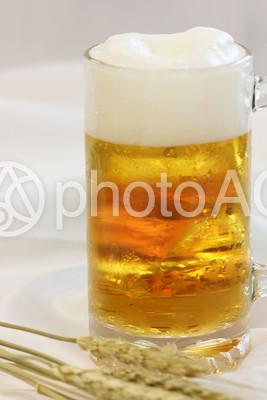 生ビールの写真