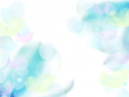 淡い 青 ブルー 空気 メルヘン ロマンティック 背景 テクスチャ 壁紙 ゆらめき 蘭 水色 水面 ときめき 恋 グリーティング ウェディング 4月 5月 6月 7月 8月 花びら 光 海 さざなみ 水 スイート 風 ナチュラル