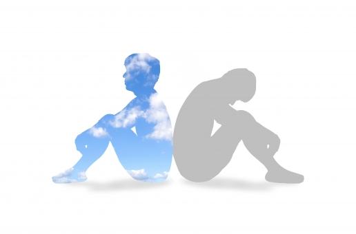 心理学 心療内科 医療 医学 自己 自己実現 カウンセラー カウンセリング メンタル ケア 悩み 相談 メンタルヘルス 心理 自分 人 人物 シルエット