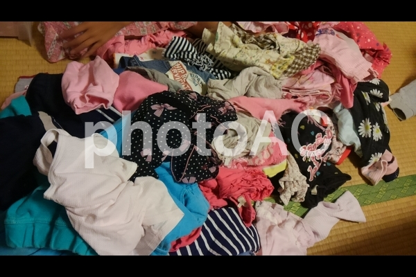 服の山2の写真