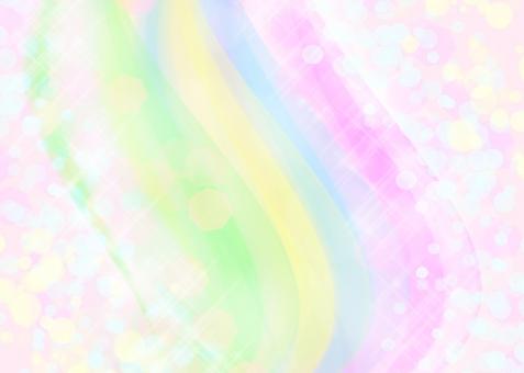 幸せ 幸運 happy ハッピー 開運 愛 愛情 家族 虹 色 パステル カラー 水玉 カラフル 優しい 淡い 嬉しい イメージ 可愛い 子供 女の子 女性 川 流れ レインボー カード グラデーション ドット メッセージ 背景 虹の日