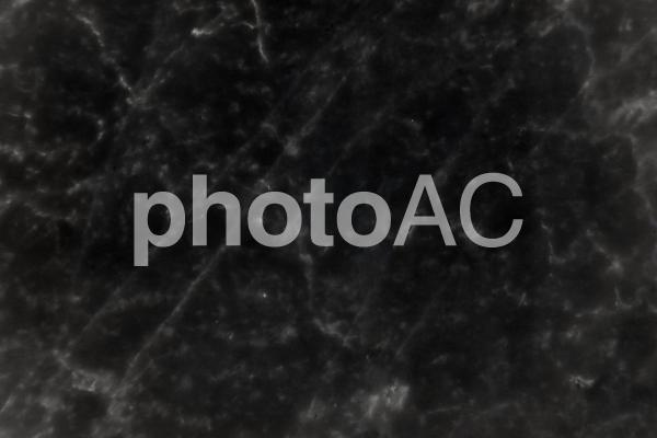 黒い大理石テクスチャ背景素材の写真