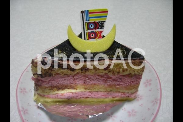 鯉のぼりのケーキの写真