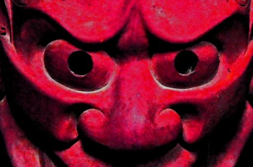 鬼の面画像に関する写真写真素材なら写真ac無料フリー