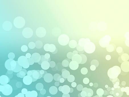 テクスチャ テクスチャー バックグラウンド 背景素材 アップ 模様 正面  ポスター グラフィック ポストカード 柄 デザイン 紙 素材 絵 光 反射 輝き ポップ 丸 円 ライト グラデーション 緑 エメラルドグリーン 水色 青 あお 淡い