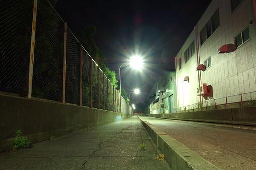 風景 旅行写真 スナップ 記録 旅行 旅 観光 名所 スポット 巡る 見物 文化 ロマン 感動  日本 神戸 夜景 美しい 綺麗 街路 道 ネオン 街灯 街明かり 都会 町並み 工場地帯 跡地