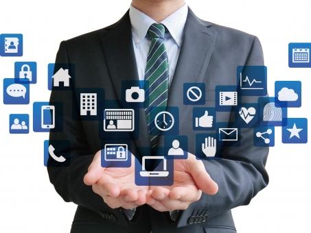 ビジネス ビジネスマン マイナンバー 開発 セキュリティ 漏洩 流出 オフィス インターネット ソーシャルネットワーク SNS タッチパネル アプリ ネットワーク ネット IT 情報 デジタル ダウンロード インストール つながる スマホ スマートホン タッチ 画面 プレゼン アイコン 音楽 アプリケーション メール