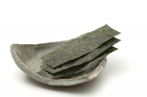 のり 海苔 味のり 味海苔 ご飯 白バック 白背景 海産物