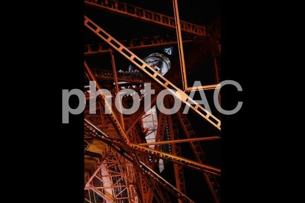 夜撮_東京タワー_5の写真