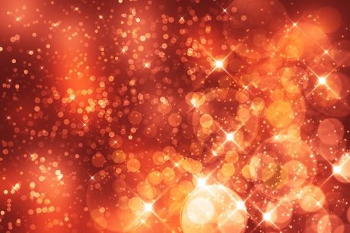 キラキラ背景赤の写真