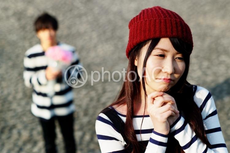 日本人カップル121の写真