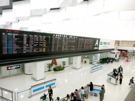 空港 飛行場 成田 到着ロビー ターミナル 掲示板 フライト 海外 入国 旅行 送迎 エア 出口 審査 東京 tokyo narita 搭乗