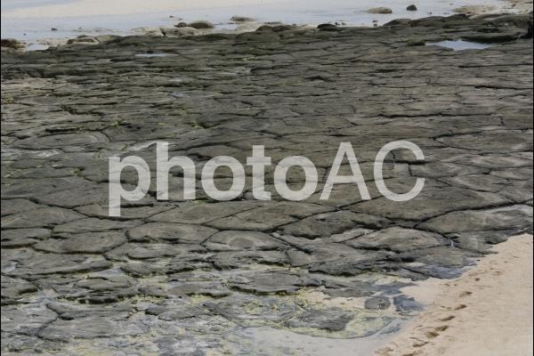 畳石の写真