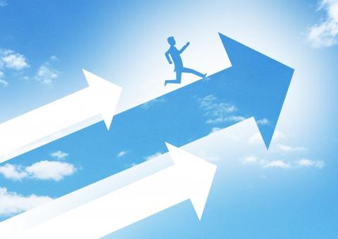 成長・飛躍のビジネスイメージの写真